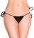 Eat Me with Your Eyes: Sexy Knot Panty - Black - Small/Medium