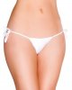 Eat Me with Your Eyes: Sexy Knot Panty - White - Small/Medium