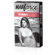 Manforce Ribbed Dotted Shaped 3in1 Condoms - Sunny Edition - 10's Pack