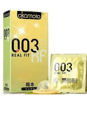 Okamoto-003 (0.03) Real Fit Condoms -10 Pieces Made in Japan