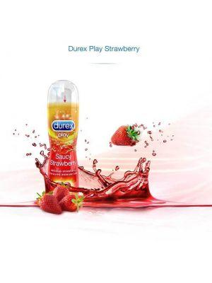 Durex Play Saucy Strawberry Pleasure Gel