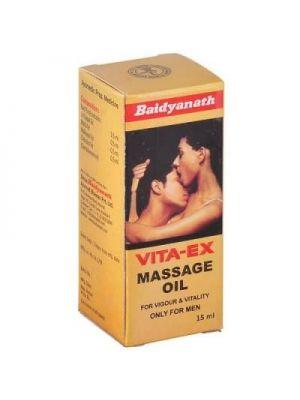 Baidyanath Vita-Ex Massage Oil for Men