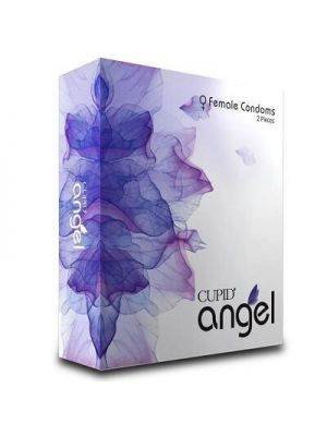 Cupid Angel Female Condom - 2's Pack