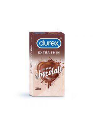 Durex Extra Thin Intense Chocolate Flavored - 10 Condoms