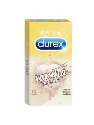 Durex Vanilla Sensually Flavored Condoms