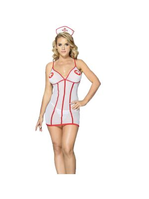 Eat Me with your Eyes - Lost in Lust - Sexy Nurse Costume- Free Size