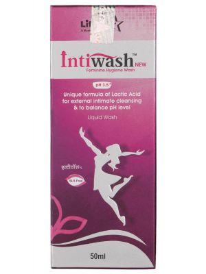 Intiwash New Feminine Hygiene Wash - 50 ml - by Mankind Pharma
