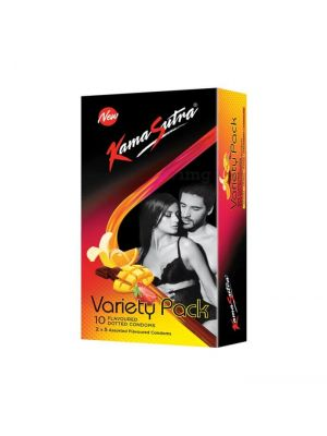KamaSutra Assorted Flavored Condoms Variety Pack
