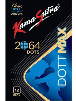 KamaSutra DoTTMAX - 2064 DoTs Condoms -12's Pack