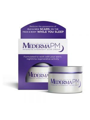 Mederma PM Intensive Overnight Scar Cream - Reduces the Appearance of Old & New Scars on the Face & Body While You Sleep - Works with Skin's Nighttime Regenerative Activity - 30 gram