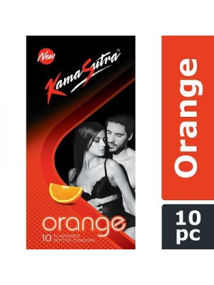 KamaSutra Orange Flavored Condoms