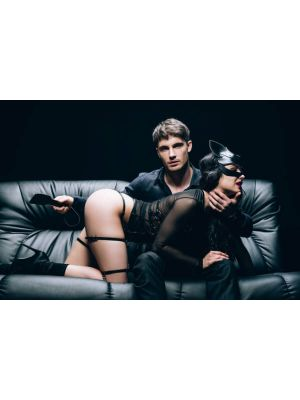 Fanny Bomb - Brace for Impact - XoXo Paddle for Erotic Play - Pure Leather