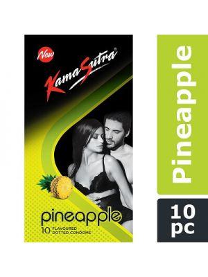KamaSutra Pineapple Flavored Condoms - 10's Pack