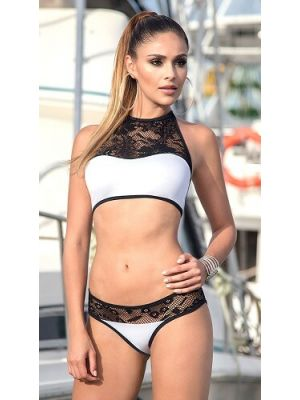 Eat Me with your Eyes - Sultry Bikini - Black&White - Free size