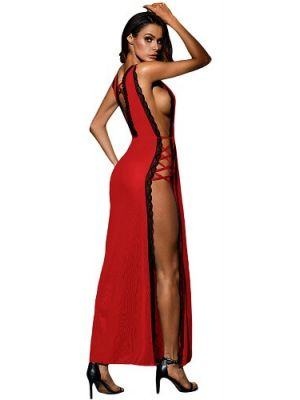 Eat Me with your Eyes - Sexplosive Night Dress - Red - Free Size