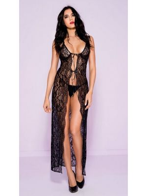 Eat Me with your Eyes - Glamour Puss - Night dress - Black - Free Size