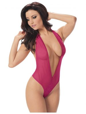 Eat Me with your Eyes - I want Candy - Erotic Teddy - Pink - Free Size