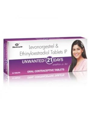 Unwanted 21 Daily Contraceptive Pill
