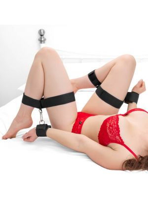 Fanny Bomb - Thigh Ankle and Wrist Restrain for Erotic Play