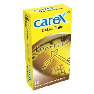 Carex Power Shot Real Delay Condoms - 10's Pack