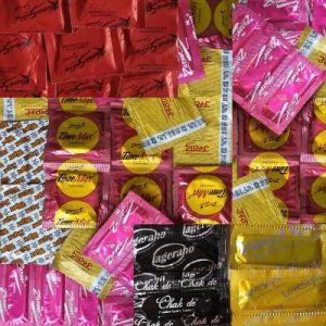 Delay, Flavoured & KamaSutra Condoms Economic Sampler - 84 Pcs