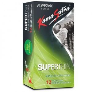 Kamasutra Super Thin condoms - 12's Pack