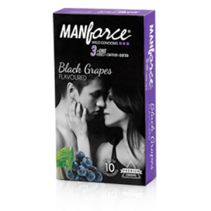 Manforce Black Grapes Flavor condoms - 10's Pack