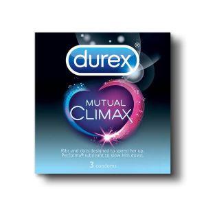 Durex Mutual Climax Condoms - 3's Pack