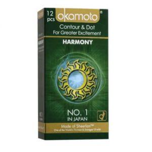Okamoto Harmony Sheerlon Condoms - 10's Pack