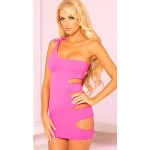 Pink Lipstick: Two-Way Sexy Show Baby Doll - Pink - Medium/Large