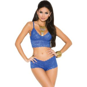 Eat Me with your Eyes - Blueming Desire- Blue- Free Size