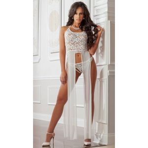 Eat-Me with Your-Eyes - Bewitch Night Gown - White - Free Size
